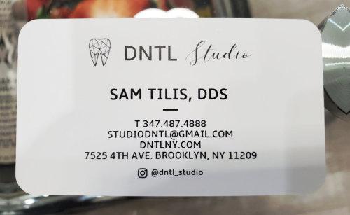 Semyon Tilis business card